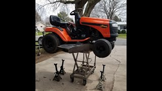 Harbor Freight 1000 lb Lift Table Put to the Test