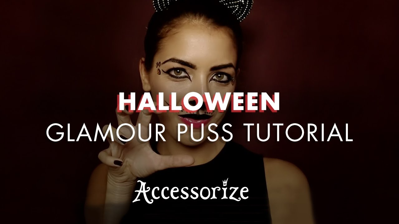 b950d690763 Halloween Cat Make-up Tutorial | Accessorize - YouTube