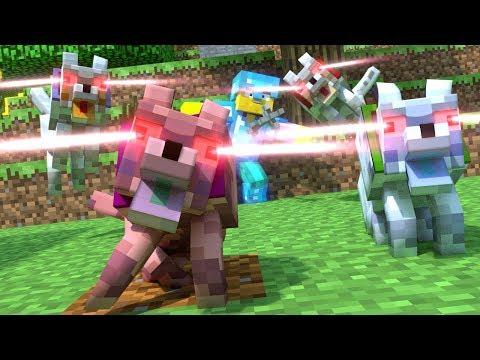 Annoying Villagers 27 - Minecraft Animation