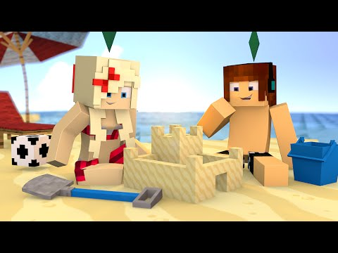 Minecraft : FOMOS PARA PRAIA !! - The Sims Craft Ep.230