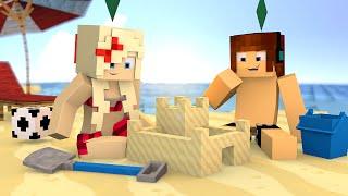 Minecraft : FOMOS PARA PRAIA !! - The Sims Craft Ep.230
