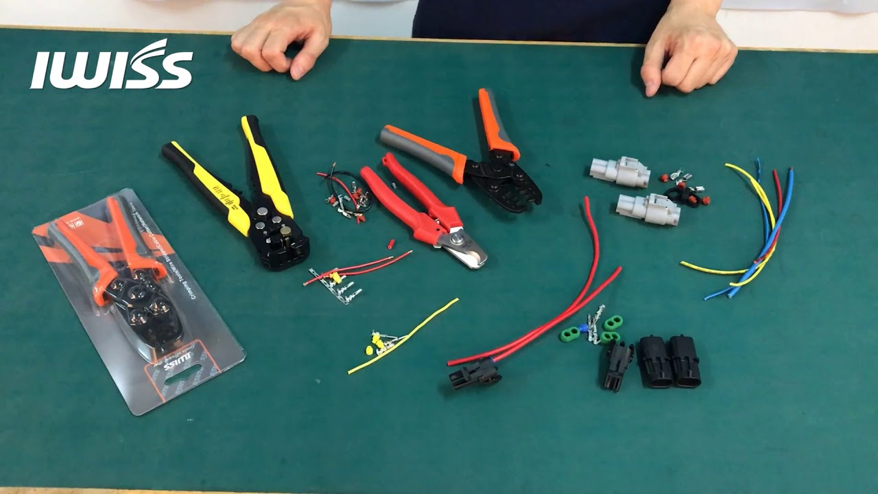IWISS Crimping and Assembling a Packard Weather Pack Connector and ...