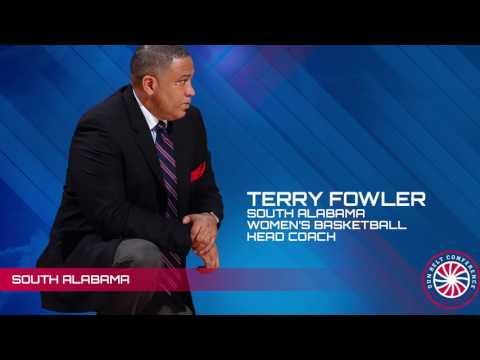 Sun Belt Post Season WBB Teleconference: South Alabama Head Coach Terry Folwer