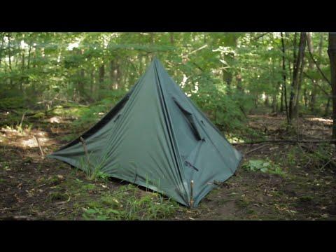 dd hammocks tarp 3x3 review zelt tent aufbau setup gear doovi. Black Bedroom Furniture Sets. Home Design Ideas