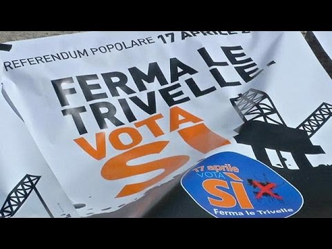 Italy goes to the polls over oil and gas drilling