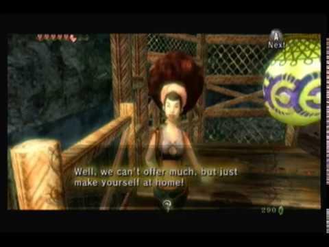 The Legend of Zelda: Twilight Princess-Part 54-Iza's Boat Game