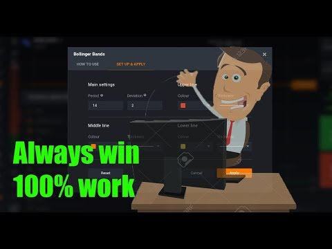 NEVER LOSS | 100% REAL STRATEGY | 2 INDICATOR CCI + BOLLINGER BAND | BINARY  OPTION