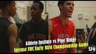 Athlete Institute vs Pine Ridge - FHC Early Bird Championship Highlights
