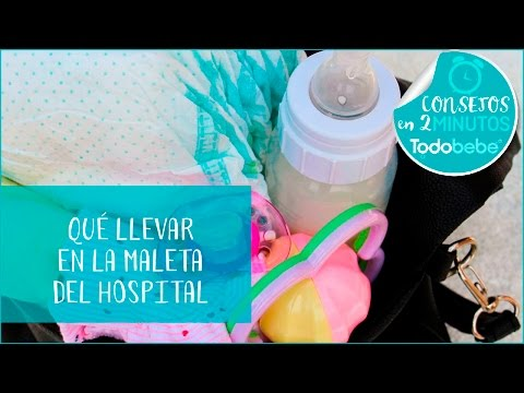 Qué llevar al hospital en tu maleta para el parto