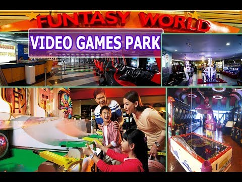 Vision City Video Games Park Malaysia | Funtasy World Video Games Park Genting Highlands Malaysia