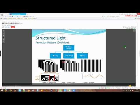 Structure Light Based 3D Surface Imaging - 卢彦斌