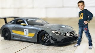 Mark has a new car Big sports Mercedes AMG GT3