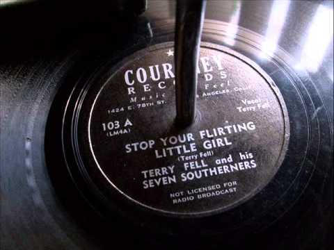 STOP YOUR FLIRTING LITTLE GIRL ~ Terry Fell &  His Seven Southerners.wmv