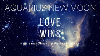 New Moon in Aquarius: Love wins