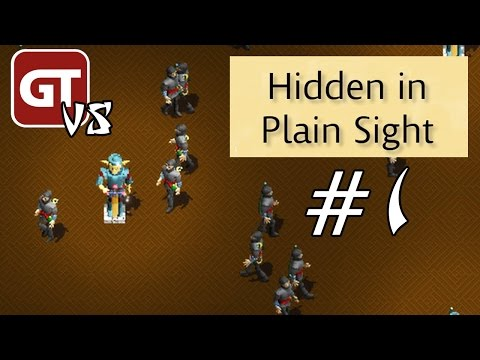GameTube VS. Marathon II - Hidden in Plain Sight #1 - Fritz vs. Michi vs. Daniel vs. Martin