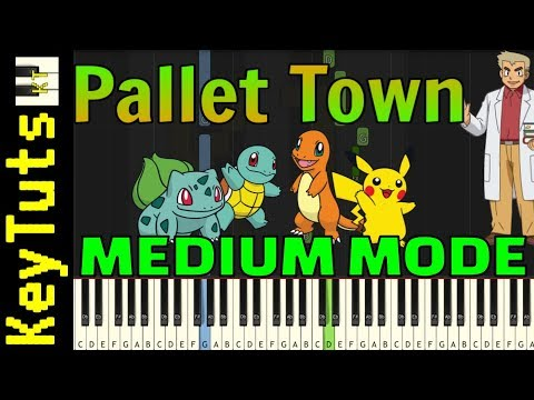 Learn to Play Pallet Town from Pokemon Red and Blue - Medium Mode