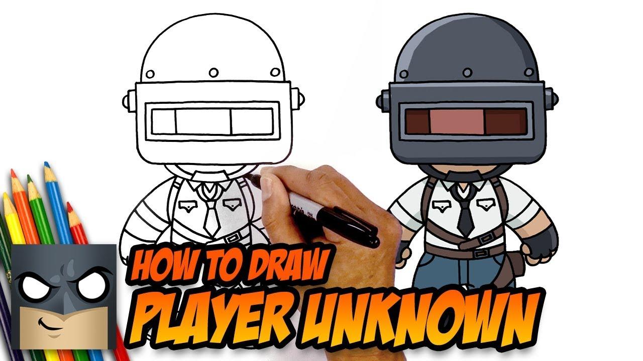 Pubg Sketch Hd: Download Lagu How To Draw Pubg Character Pubg Drawing