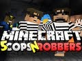 Minecraft Cops and Robbers 5 - YOU NEED TO BE FREE!! (SkyDoesMinecraft, Mitch and Friends)