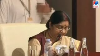 ഭീകരവാദം അവസാനിപ്പിക്കൂ; പാക്കിസ്ഥാനെതിരെ തുറന്നടിച്ച് സുഷമാസ്വരാജ് | Ioc meeting | Sushma swaraj