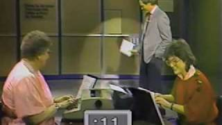 Barbara Blackburn (World's Fastest Typist) on Letterman - 1985