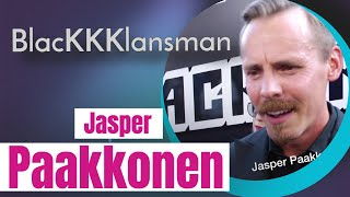 "Jasper Paakkonen at ""BlacKkKlansman"" red carpet talks about the film."