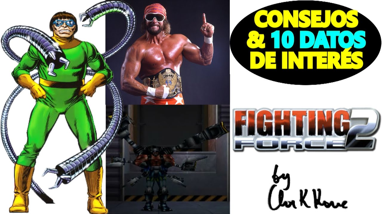 FIGHTING FORCE 2: 10 CURIOSIDADES │ Comentarios por nivel #2 by Clark Kane