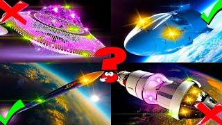 Мультик про космос. Космический транспорт для малышей. Ракеты. Развивающее видео для детей.