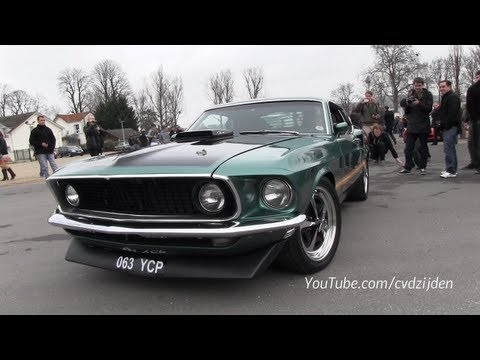 Ford Mustang Mach1 Pure Engine Sound!