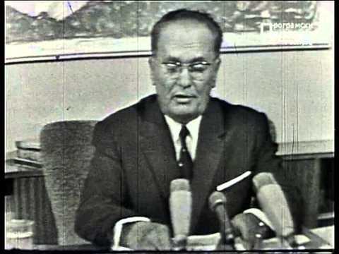 Tito govori studentima. Beograd, 9. jun 1968. godine.