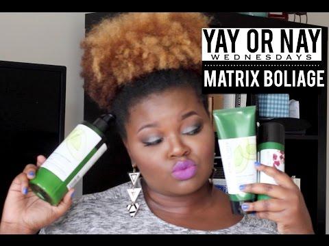 YAY OR NAY -- MATRIX BIOLAGE FOR COARSE HAIR | CharyJay