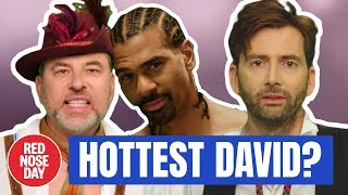 David Haye, David Tennant (and more) in a Saucy Calendar | Comic Relief