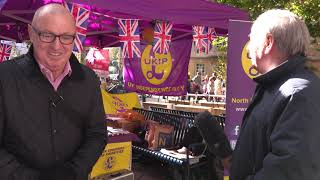 UKIP vehicle vandalised in Bath 2018