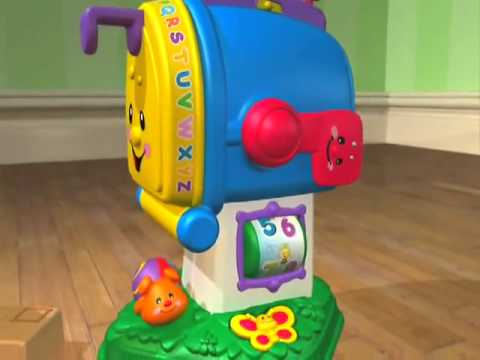 Fisher Price Learning Letters Mailbox