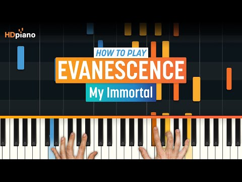 "How To Play ""My Immortal"" by Evanescence 