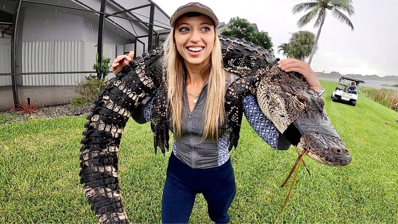 HOW TO Catch, CLEAN and Cook an ALLIGATOR (EMERGENCY NUISANCE GATOR)
