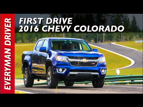 First Drive: 2016 Chevrolet Colorado on Everyman Driver