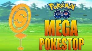 How to get MEGA Pokestops! 6+ Items, Eggs, and Bonus XP (Pokemon GO Tip)