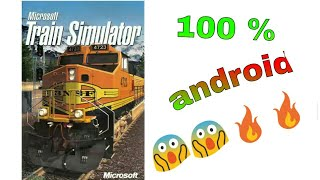 How to download msts Microsoft train simulator in android 🔥😱
