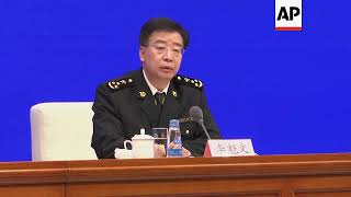 Chinese customs official says imports, exports rising despite trade tensions