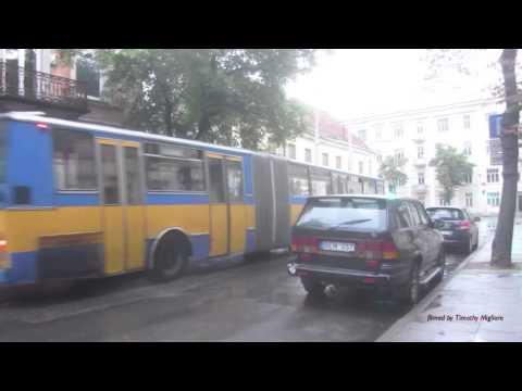 Buses in Vilnius, Lithuania