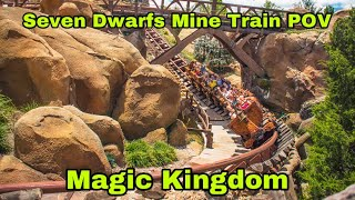 Seven Dwarfs Mine Train Onride POV - Magic Kingdom - Lake Buena Vista, FL