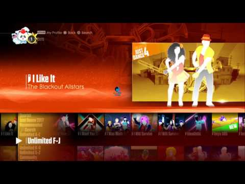 Just Dance 2017 Unlimited Song List (PS4/1080p