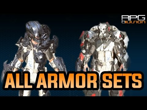 The Surge - All Armor Sets Showcase