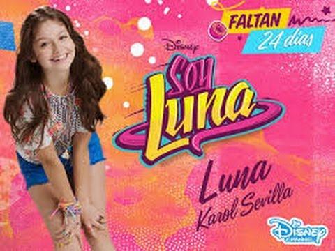 Mi Fiesta Con Soy Luna Tematica Youtube