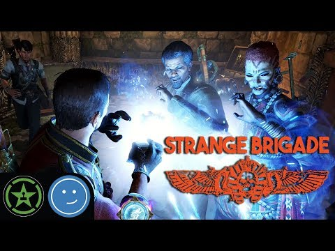 Awkward Hands - Strange Brigade | Let\'s Play