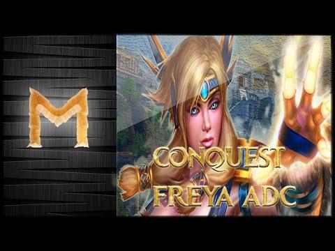 Smite - Conquest ADC#2 - Freya - Fechou Fatalis não tem como fugir. (no mic)