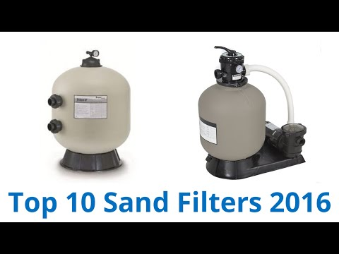 10 Best Sand Filters 2016