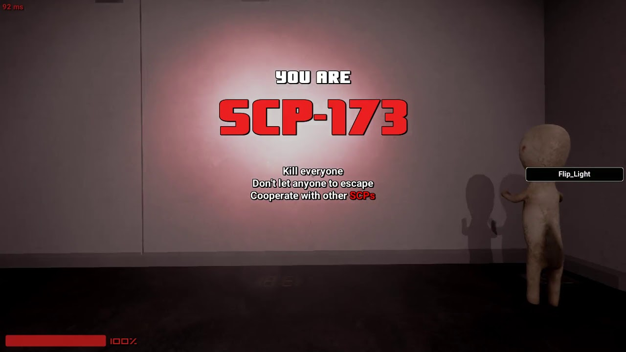 SCP Secret Laboratory - Souls of SCP server - Force class is fun