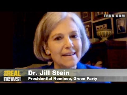 "Green Party Presidential Candidate Presents a  ""New Green Deal"""