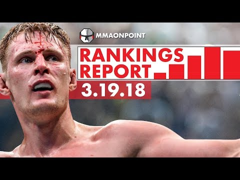 The Rankings Report (03/19) UFC London: Werdum vs Volkov